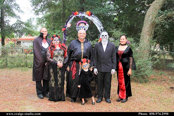 Valparaiso Halloween wedding