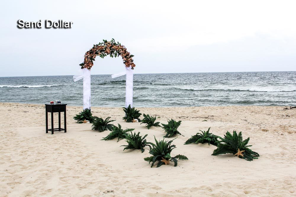 Beach Wedding Arbor